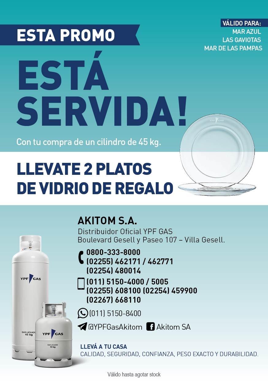 Promoción para Mar de las Pampas, Las Gaviotas y Mar Azul