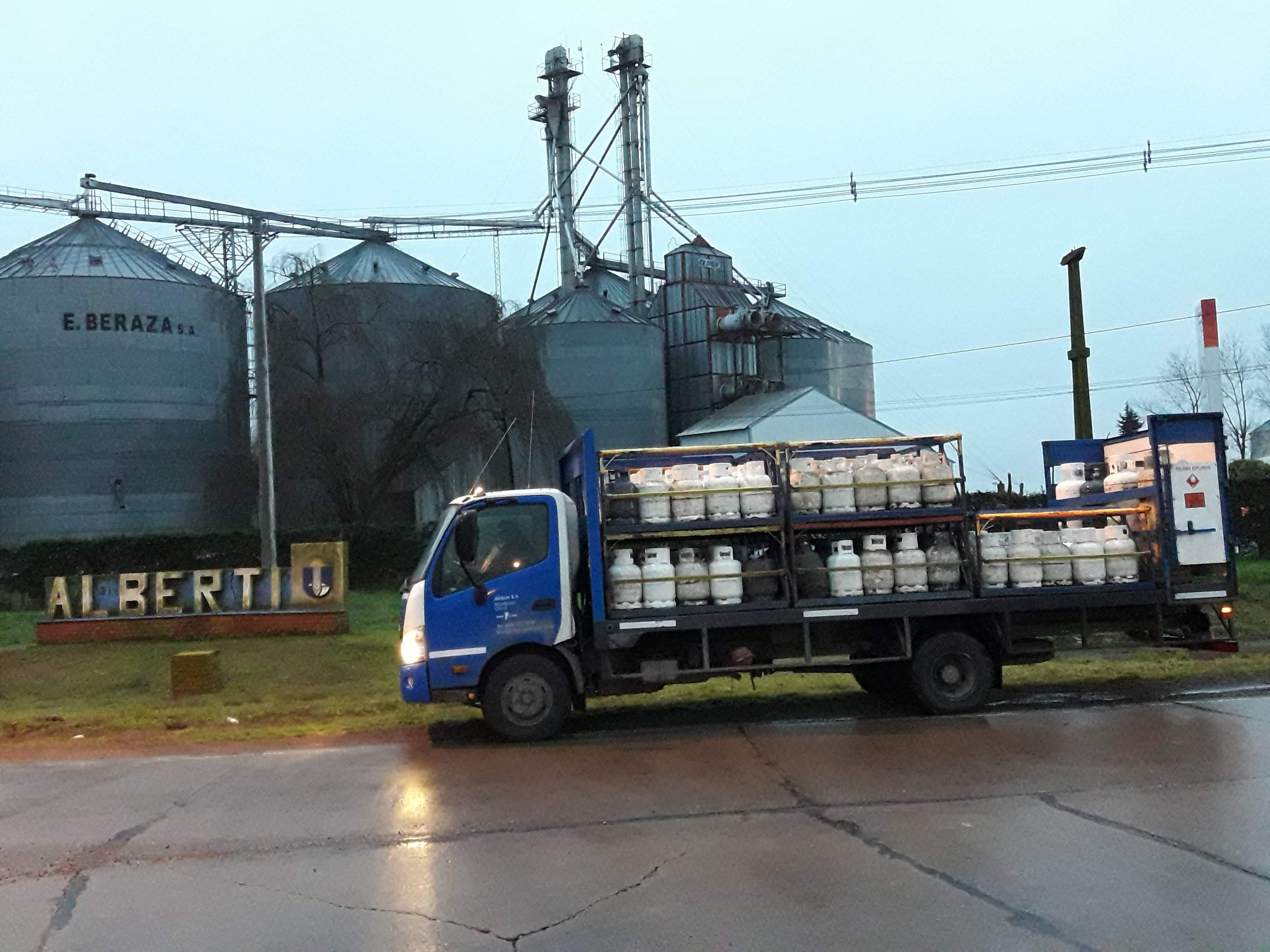 YPF Gas en Alberti