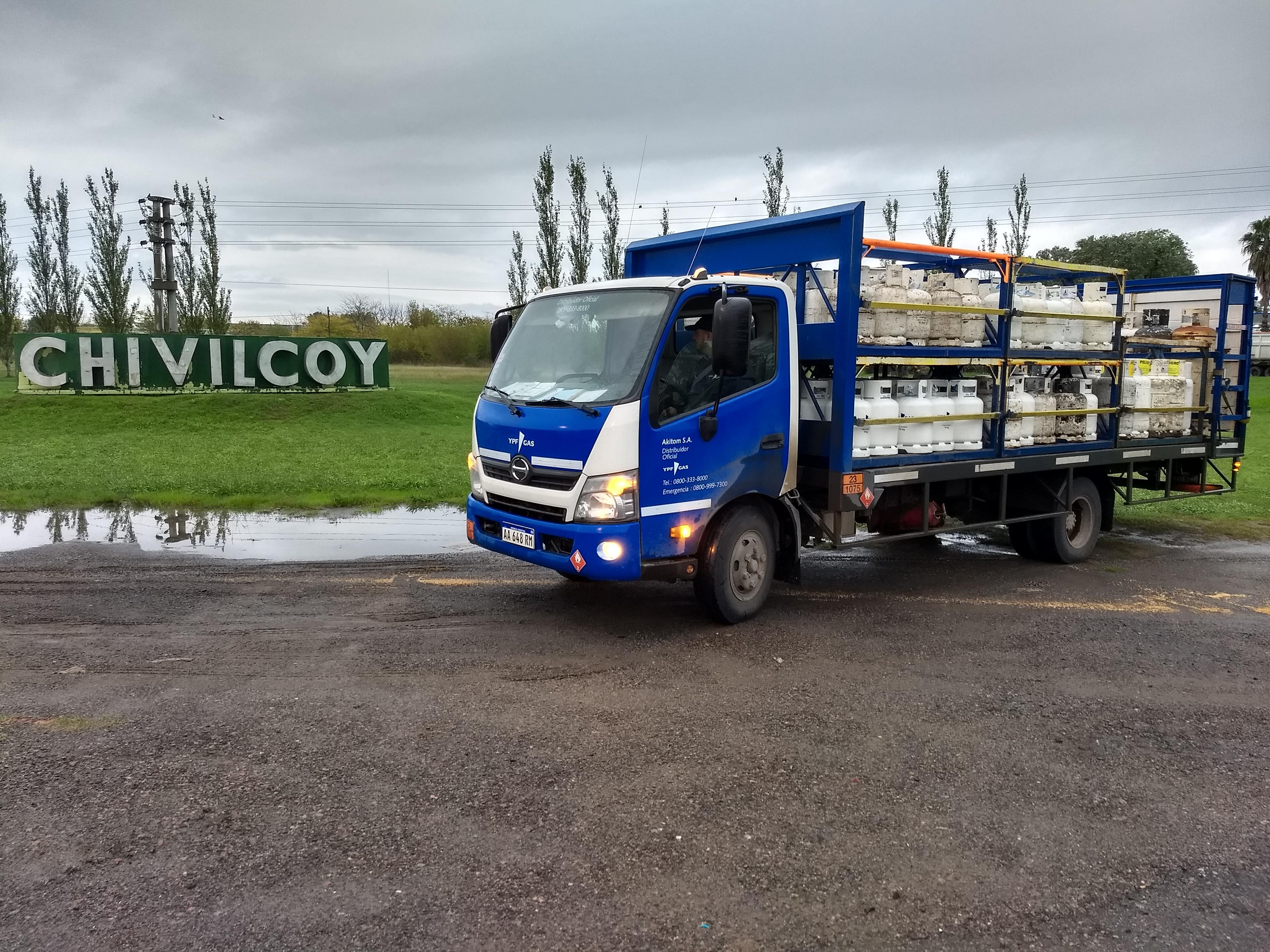YPF Gas en Chivilcoy