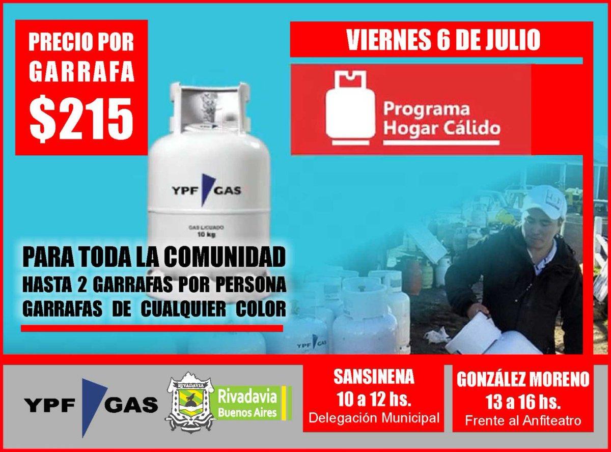 El Programa Hogar Cálido llega a Rivadavia