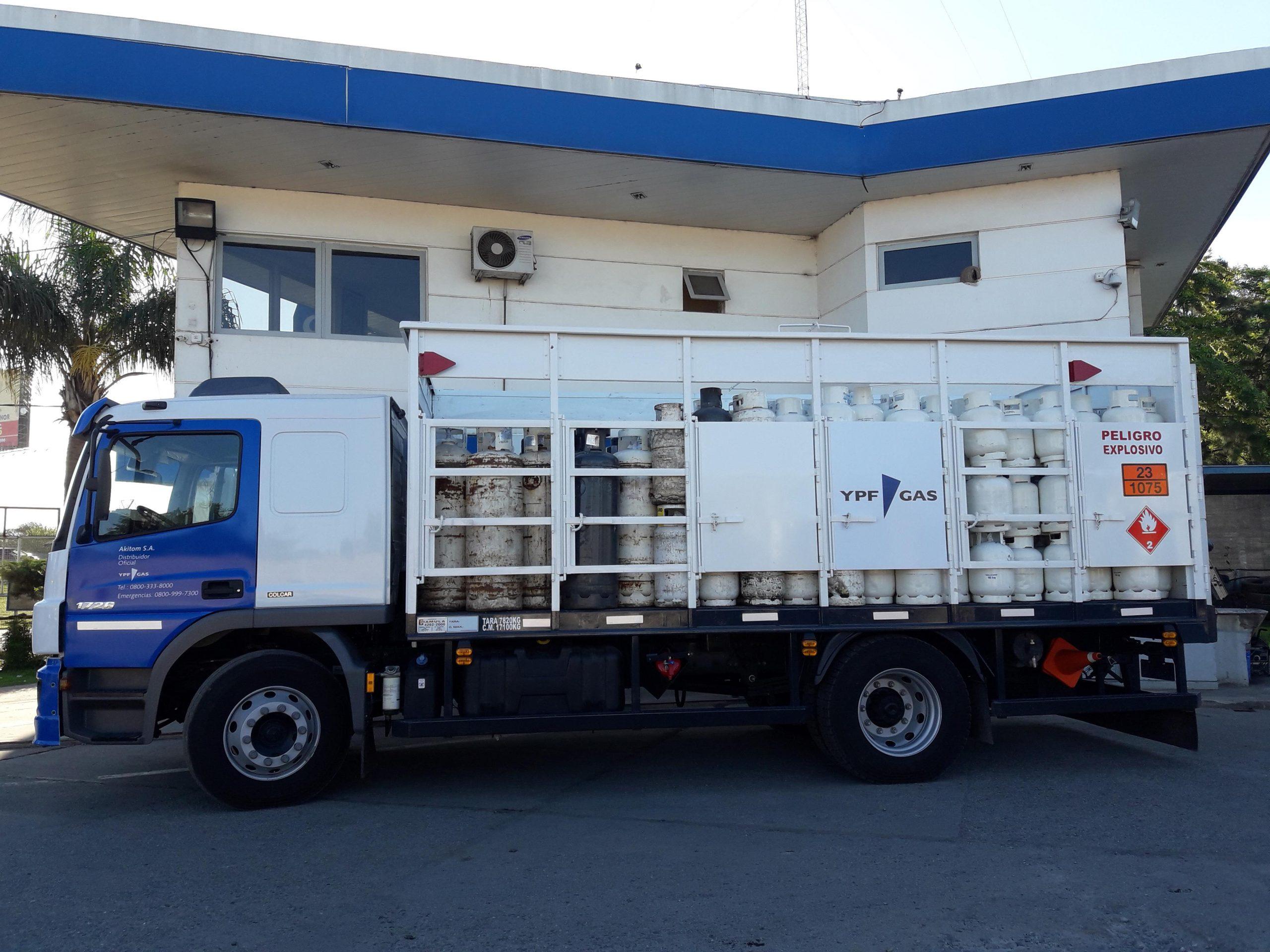 Contá con Akitom SA, uno de los 52 distribuidores de YPF Gas de todo el país