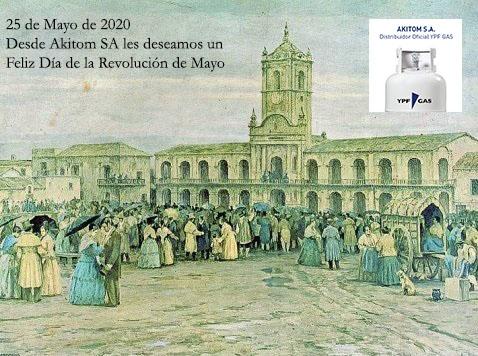 Horario del Feriado del 25/05/2020