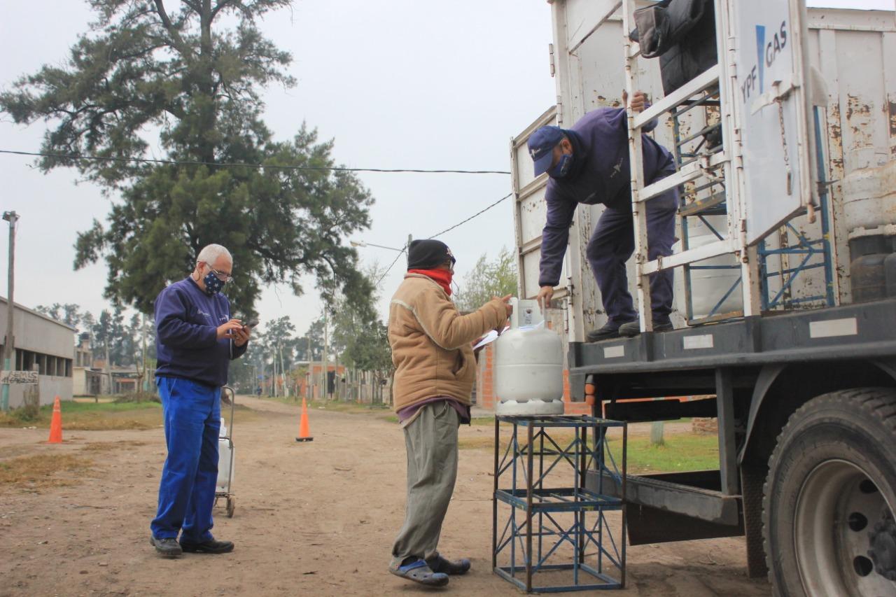 El Operativo del Programa Hogar el barrio La Reja de Moreno en fotos