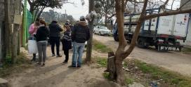 Operativo del Programa Hogar en el barrio Santa Brígida de Moreno