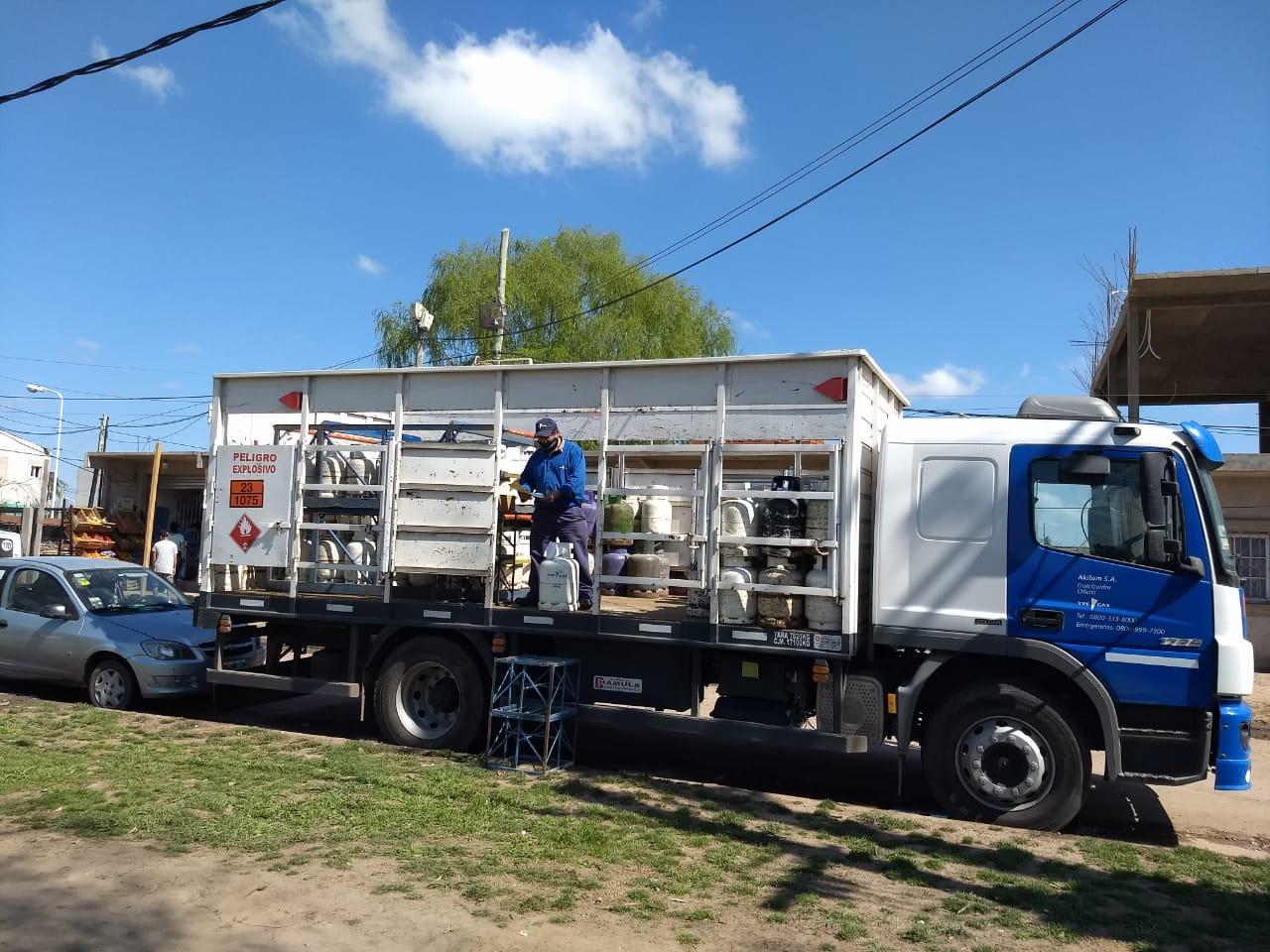 Operativo del Programa Hogar en el barrio Sol y Verde de José C. Paz