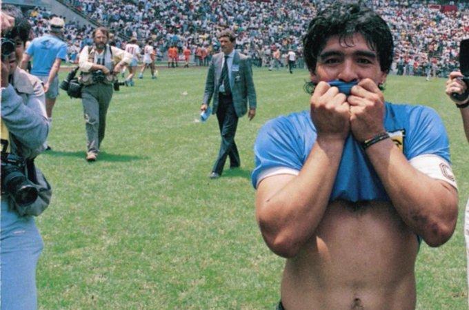 El adiós a Diego Maradona, el héroe del deporte argentino que ya se convirtió en leyenda
