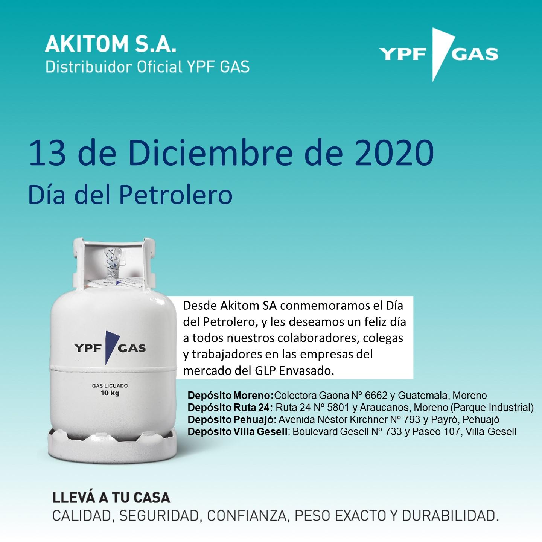 Feliz Día del Petrolero