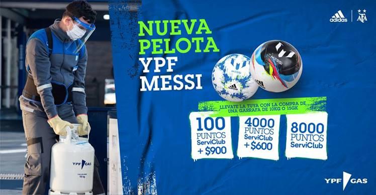 ¡Preparate para recibir el verano con la nueva pelota YPF Messi!