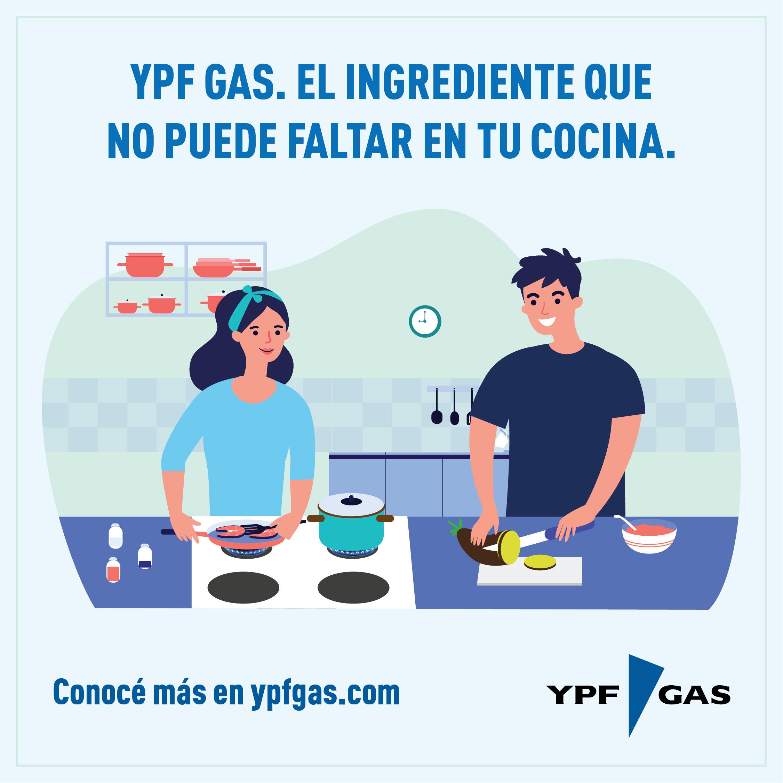 YPF Gas, el ingrediente esencial que no puede faltar en tu cocina