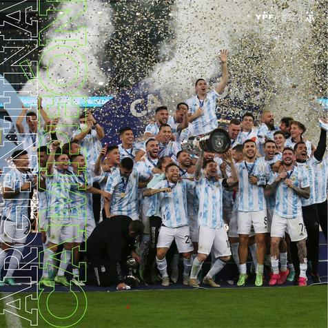 ¡Argentina campeón de la Copa América!