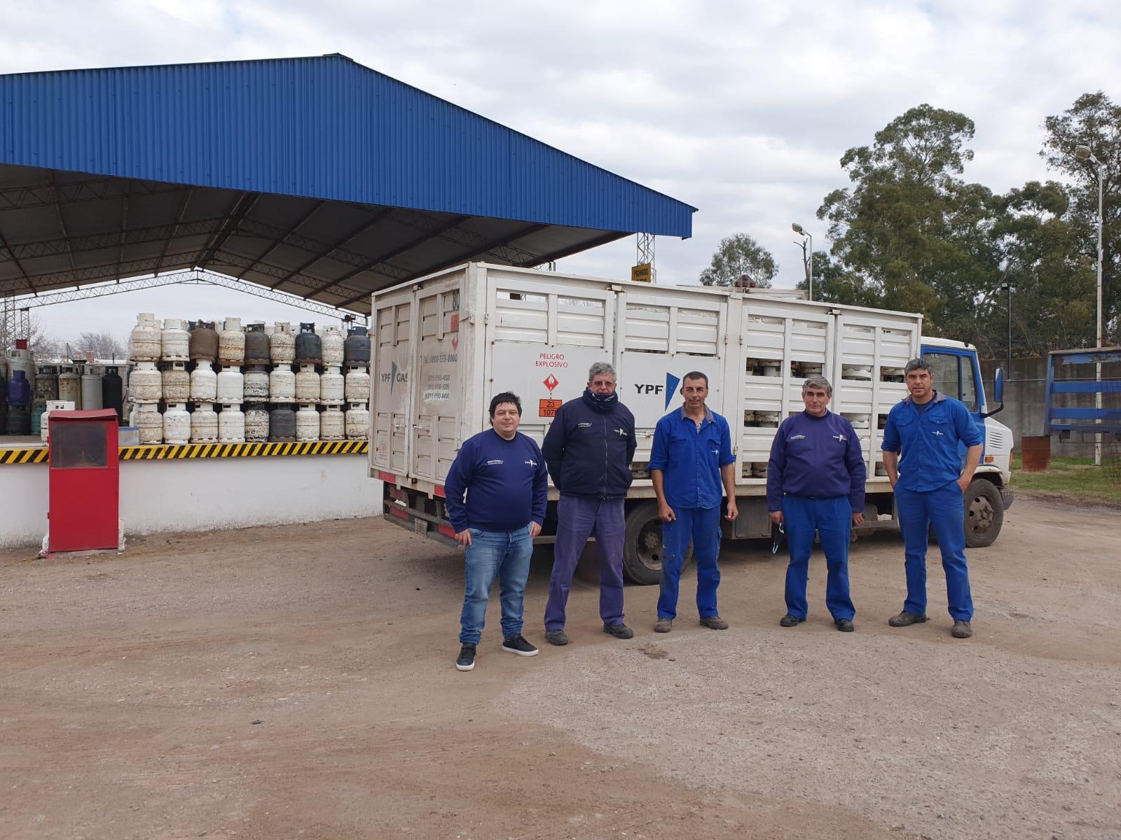 Reunión de trabajo en el Depósito Pehuajó